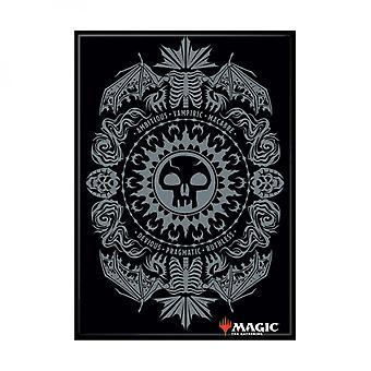 Magie der Sammlung schwarz Mana Symbol Karte Magnet