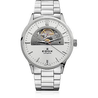 Edox - Wristwatch - Men - Les Vauberts - Open Heart Automatic - 85014 3M AIN