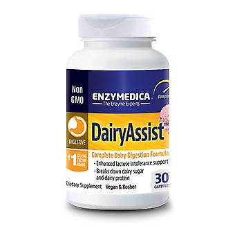 Enzymedica DairyAssist capsules 30 (14050)