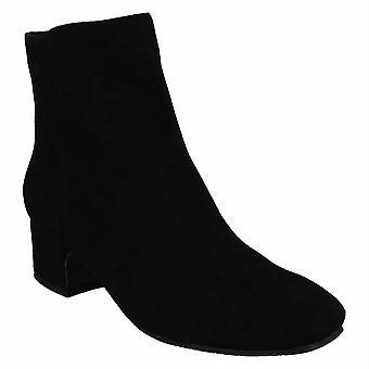 Spot On Womens/Ladies Zip Ankle Boots