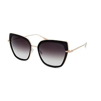 Barton Perreira Solstress BP0058 0FN Black-Gold/Smolder Gradient Sunglasses