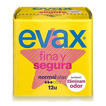 Normal Sanitary Pads with Wings Evax (12 uds)
