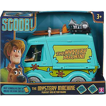 Scooby Mystery Machine Playset and Action Figure
