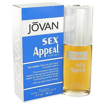 Sex Appeal Cologne Spray By Jovan 3 oz Cologne Spray