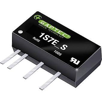 Gaptec 1S7E_1524S1.5UP DC/DC converter (print) 15 V DC 24 V DC 42 mA 1 W Nr. van de uitgangen: 1 x