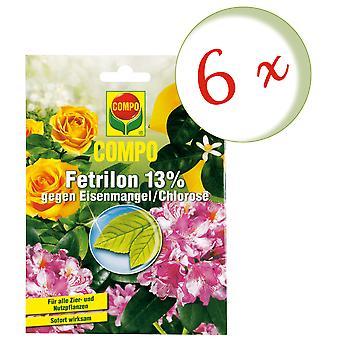 Sparset: 6 x COMPO Fetrilon 13%