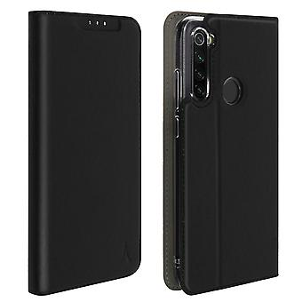 Case for Xiaomi Redmi Note 8/Note 8T with a Card Holder Silicone Stand Black