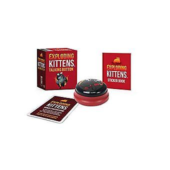Exploding Kittens - Talking Button by Exploding Kittens LLC - 97807624