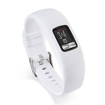 for Garmin Vivofit 4 Strap Band Replacement Wristband Bracelet Classic Buckle[White,Does Not Apply]