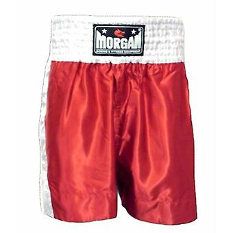 Morgan Boxing Shorts Red