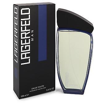 Lagerfeld Man Eau De Toilette Spray By Karl Lagerfeld 3.4 oz Eau De Toilette Spray