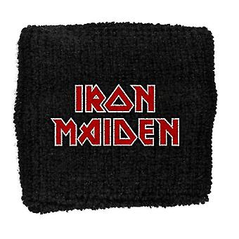 Iron Maiden Sweatband The Final Frontier band Logo New Official black Cotton
