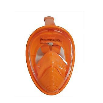 الأطفال كامل الوجه الغطس الغوص قناع السباحة معدات التدريب تمديد ل gopro