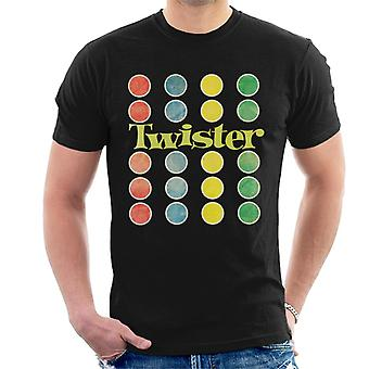 Twister Faded Mat Design Men-apos;s T-Shirt