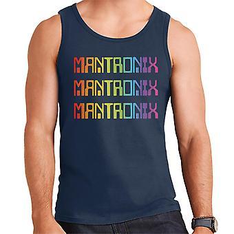 Mantronix The Album Cover Rainbow Shimmer Flex Men's Vest