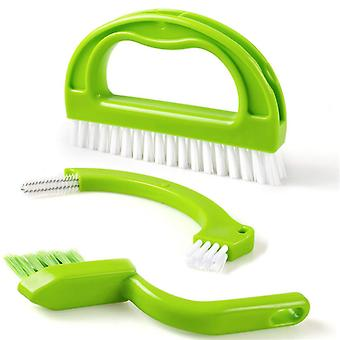 3 In 1 Tile Grout Cleaning Brush
