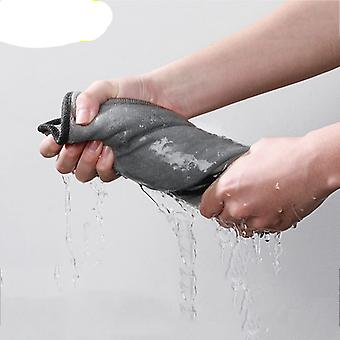 Microfiber Towel Hair Fast Dryer Towel & Cleaning Drying Cloth For Car