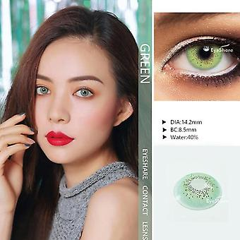 1 Pair Ocean Color Beautiful Pupil Contact Lenses - Cosmetic Contact Lens for Eye Color