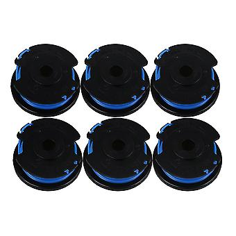 6Pcs 29252 Single Line String Trimmer Replacement Spool 21602 21222