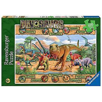 Ravensburger XXL 100 Stück Dinosaurier Puzzle