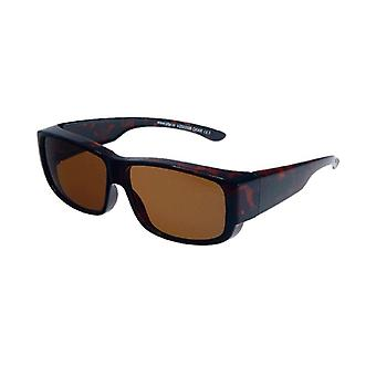 Sunglasses Unisex brown with brown lens VZ0009B