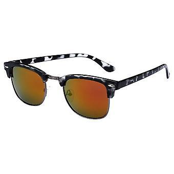Gafas de sol Unisex con espejo vidrio gris (AZ-16-107)