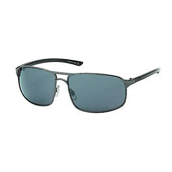 Gafas de sol Rectangular Hombres Azul/Antracita (20-238)