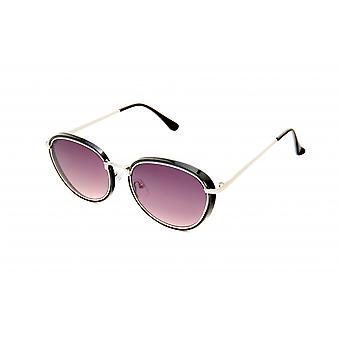 Gafas de sol Unisex negro/plata/violeta (20-104)