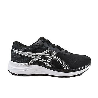 Asics Gel-Excite GS Black/White Mesh Childrens Lace Up Running Trainers