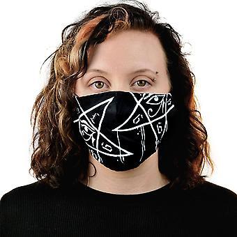Heartless Dripping Pentagram Mask