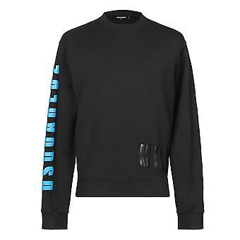Dsquared2 Military Logo Black Sweatshirt
