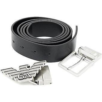 Armani Leather Belt And Buckle Gift Set