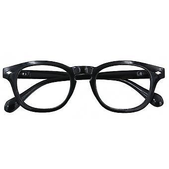 Leesbril Unisex Bowie multifocale zwarte dikte +2,00