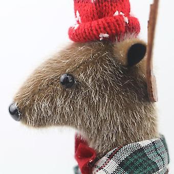 26cm Hirsch Plüsch, gefüllte Tiere weiche buddly Weihnachten, Kawaii Elch Puppen