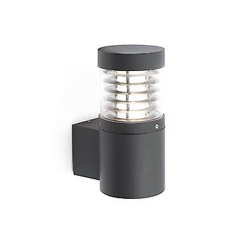 LED Outdoor Wall Light Dark Grey IP54
