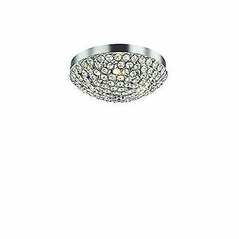 ideell lux orion - 3 lys innendørs liten innfelt lys krom, g9