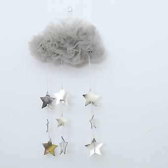 Children Tent Decoration Star Felt  Rainbow Pendant Kids Room Decoration- Smiles Photography Props Dropshipping