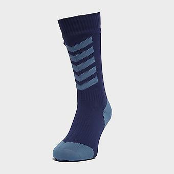 New Sealskinz Men's Waterproof Cold Weather Mid Length Socks Blue