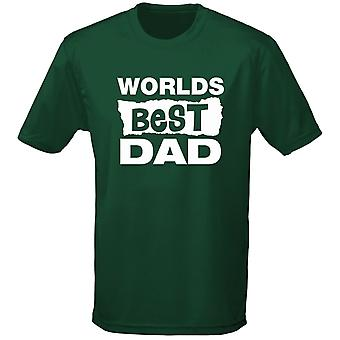 Worlds Best Dad Birthday Father's Day Mens T-Shirt 10 Colours (S-3XL) by swagwear