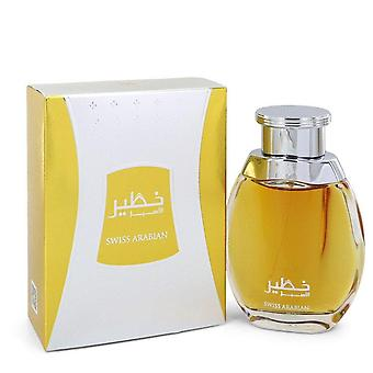 Arabian Suizo Khateer Eau De Parfum Spray por Swiss Arabian 3.4 oz Eau De Parfum Spray