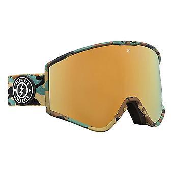 Electric Kleveland Goggles - Camo / Brose / Gold Chrome