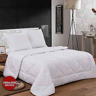 Mikrofiber sängkläder (Duvet + 2 kuddar) - 200x200cm