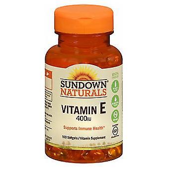 Sundown Naturals Vitamin E, 400 IU, 100 caps
