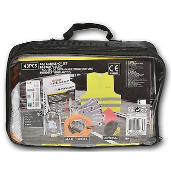 Kit de emergência obrigatório para itens Dunlop 43