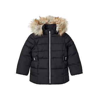 Meno-it Dievčatá Zimný kabát Merethe Dark Zafír