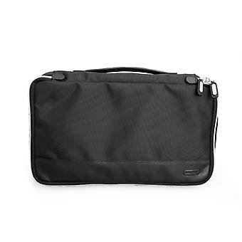 Bennet Mediumpacking Cube In Ballistic Nylon Cordura® And Leather