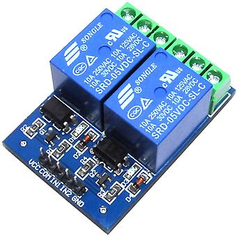LC Technology 5V 2 Channel Relay Module