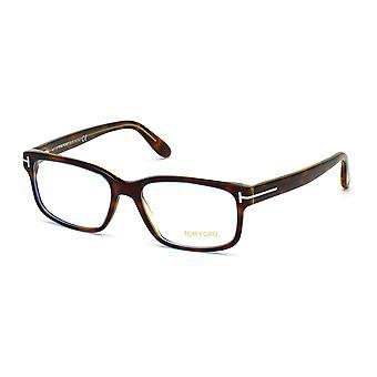 توم فورد TF5313 055 نظارات هافانا الملونة