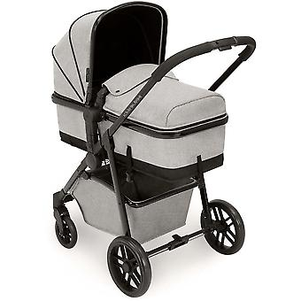 Ickle Bubba Moon 3 in 1 Travel System Galaxy & Isofix Base
