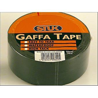 STUK Gaffe Tape Black 48mm x 50m G5050B